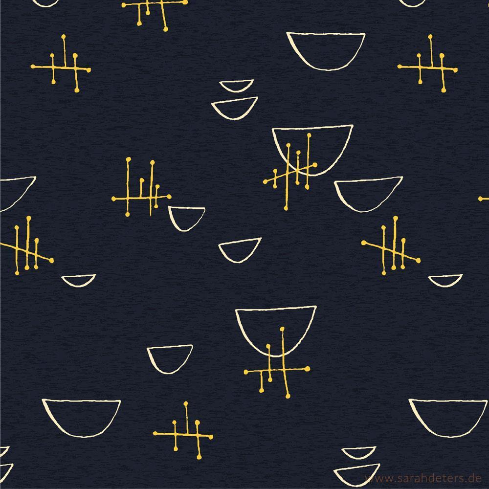 Muster Midcentury 50er Jahre Surfacedesign