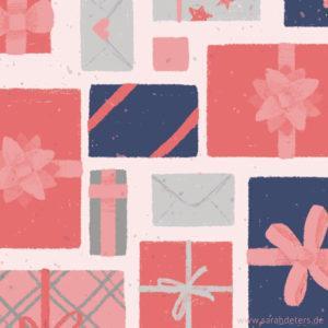 Muster festliche Geschenke Sarah Deters