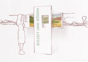 Infohaus Fischbeker Heide Raumdesign Ausstellung Sarah Deters