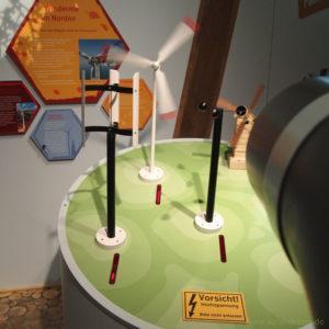 Hands-on Exponat Windkraft