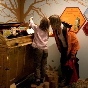 Hands-on Exponat Ausstellung