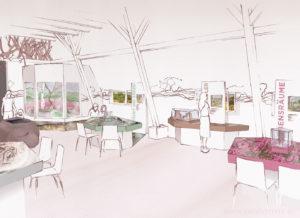 Infohaus Fischbeker Heide Ausstellungsdesign Sarah Deters