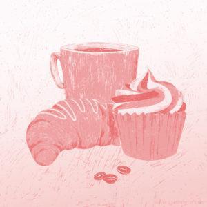 Good Food Good Mood Illustration Sarah Deters
