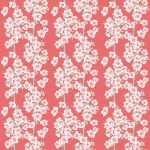 Cherry Blossom Pattern Design Sarah Deters