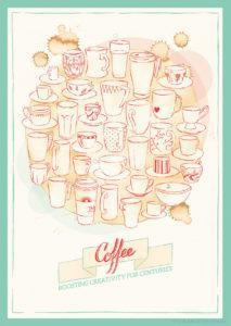 Coffee Grafikdesign Poster Sarah Deters