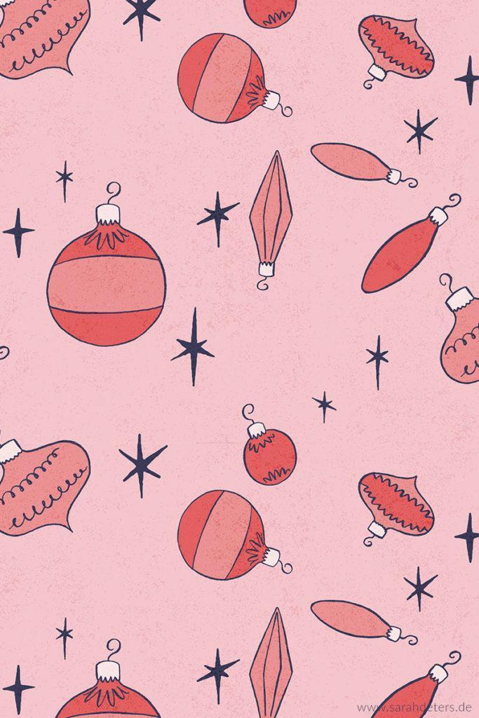 Surface Pattern Design Vintage Christmas