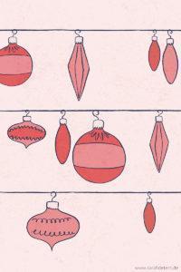 Vintage Ornaments Muster Sarah Deters