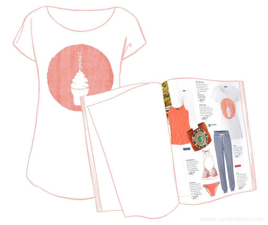 Femininer Placement Print Mode Eis