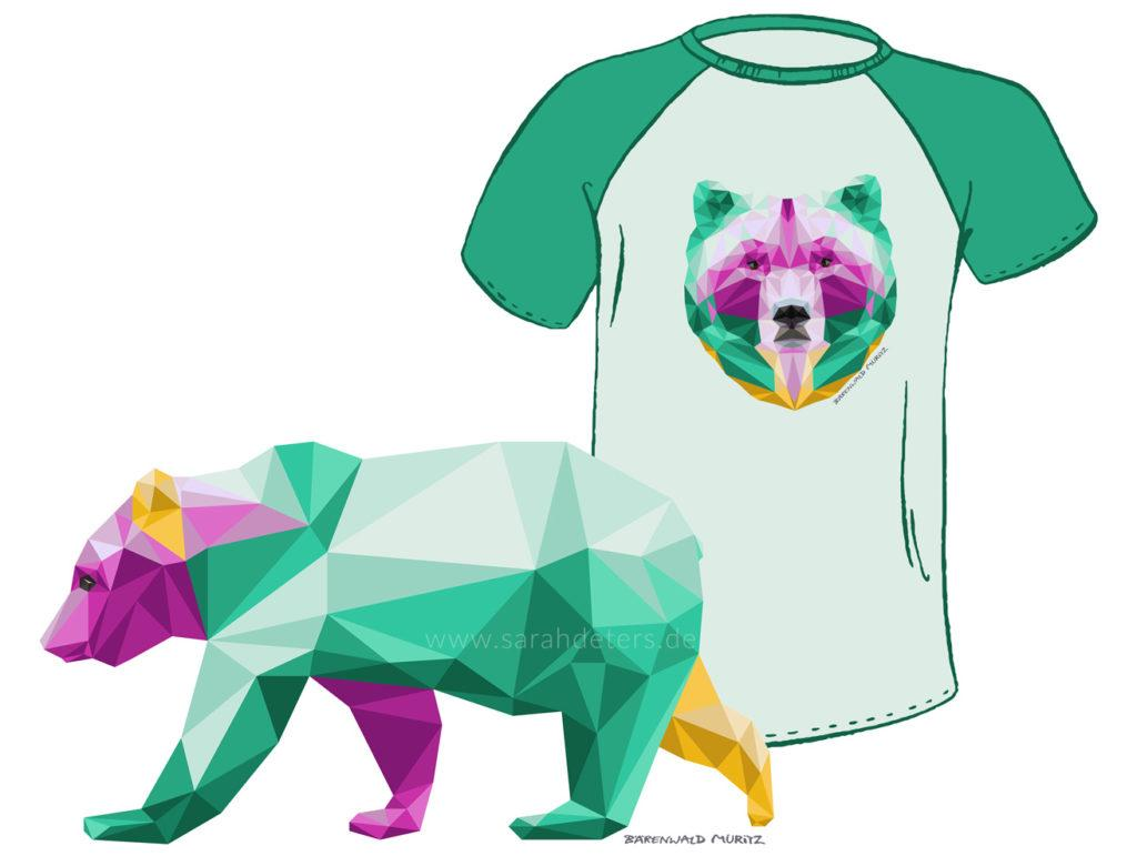 Illustration Fashion Artwork Bear