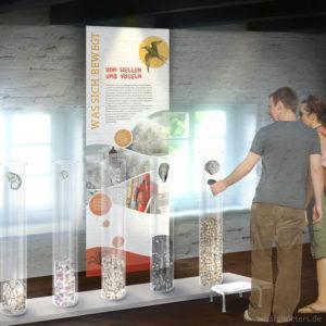 Nationalpark-Haus Carolinensiel Ausstellung Visualisierung Sarah Deters