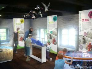 Nationalpark-Haus Carolinensiel Visualisierung Sarah Deters