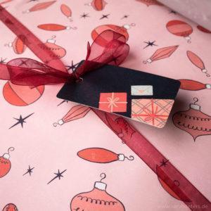 Tiny Gifts Geschenkanhänger Illustration Sarah Deters