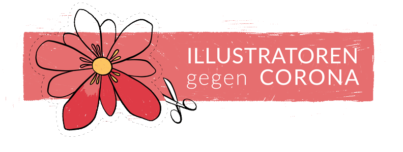 Ausmalbild - Illustratoren gegen Corona